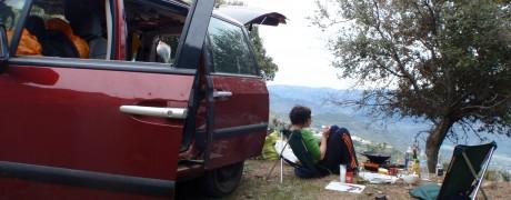 Wild (at heart) camping..